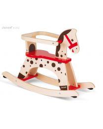 Janod - Caramel - Cheval à bascule en bois