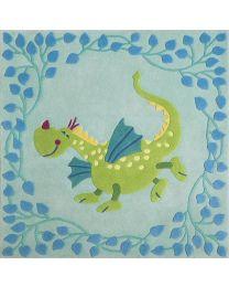 Haba - Dragon Fabuleux - Tapis pour enfants - 140x140cm
