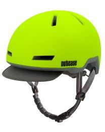 Nutcase Tracer Spark Jaune Mat - M/L - Casque de vélo (56-60 cm)