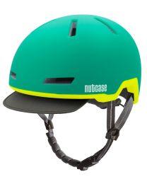 Nutcase Tracer Vert Mat - S/M - Casque de vélo (52-56 cm)