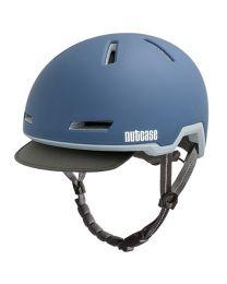 Nutcase Tracer Storm Bleu Mat - M/L - Casque de vélo (56-60 cm)