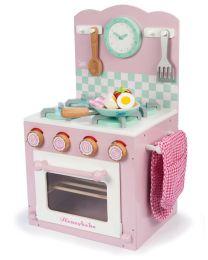 Le Toy Van - La Cuisinière et Four - Rose - Cuisine pour enfants en bois