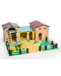 Le Toy Van - La Ferme - Ensemble de jeu en bois
