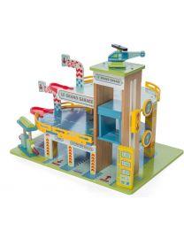 Le Toy Van - Le Grand Garage - Ensemble de jeu en bois