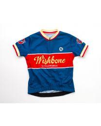 Wishbone Bike - Maillot de cyclisme - Bleu M