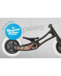 Wishbone Bike - Recycled Autocollant - Paisley