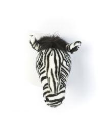 Wild & Soft - Trophée zèbre Daniel - Tête d'animal