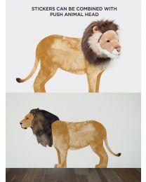 Wild & Soft - Sticker mural lion