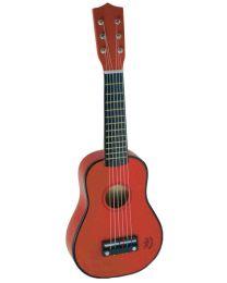Vilac - Guitare rouge en bois
