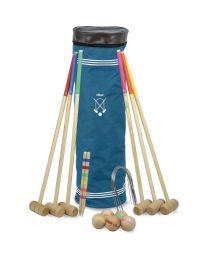 Vilac - Jeu de croquet Senior en bois 6 joueurs