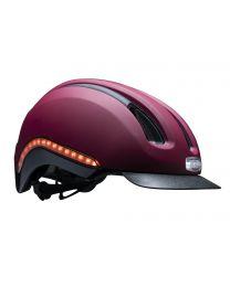 Nutcase - Vio Cabernet Matte MIPS Light - L/XL - Casque vélo (59 - 62 cm)